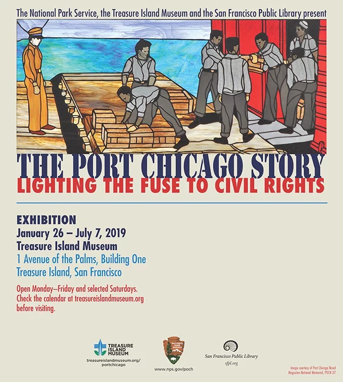 Treasure Island Museum Honors Black History Month Lighting the Fuse to Civil Rights The Port Chicago Trial on Treasure Island